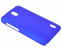 Blauw effen hardcase hoesje Huawei Y625