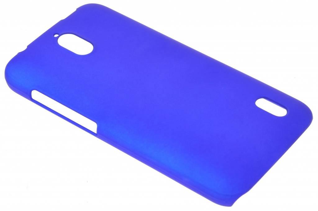 Blauw effen hardcase hoesje voor de Huawei Y625