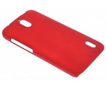 Rood effen hardcase hoesje Huawei Y625