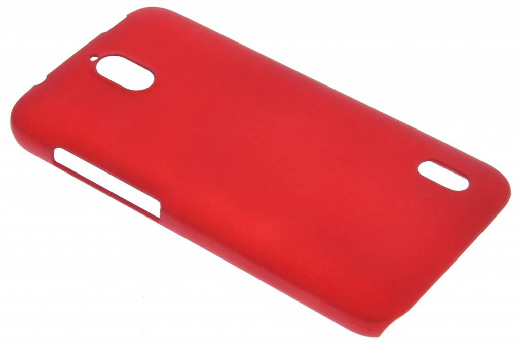 Rood effen hardcase hoesje voor de Huawei Y625