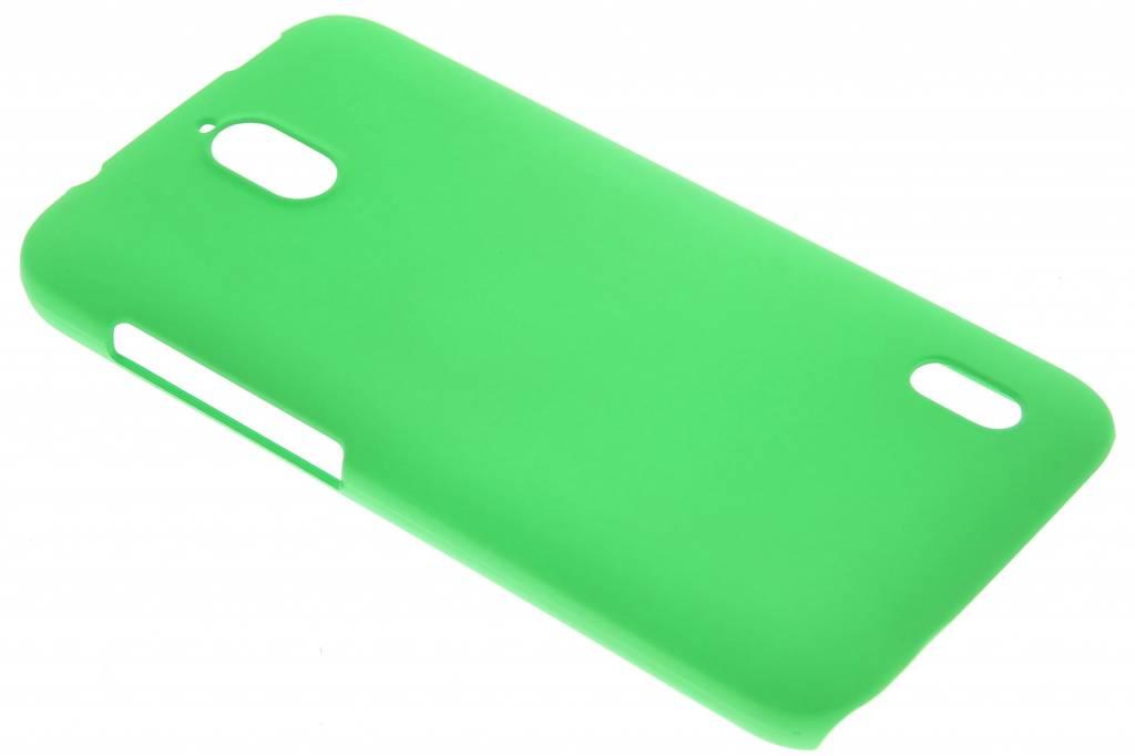 Groen effen hardcase hoesje voor de Huawei Y625