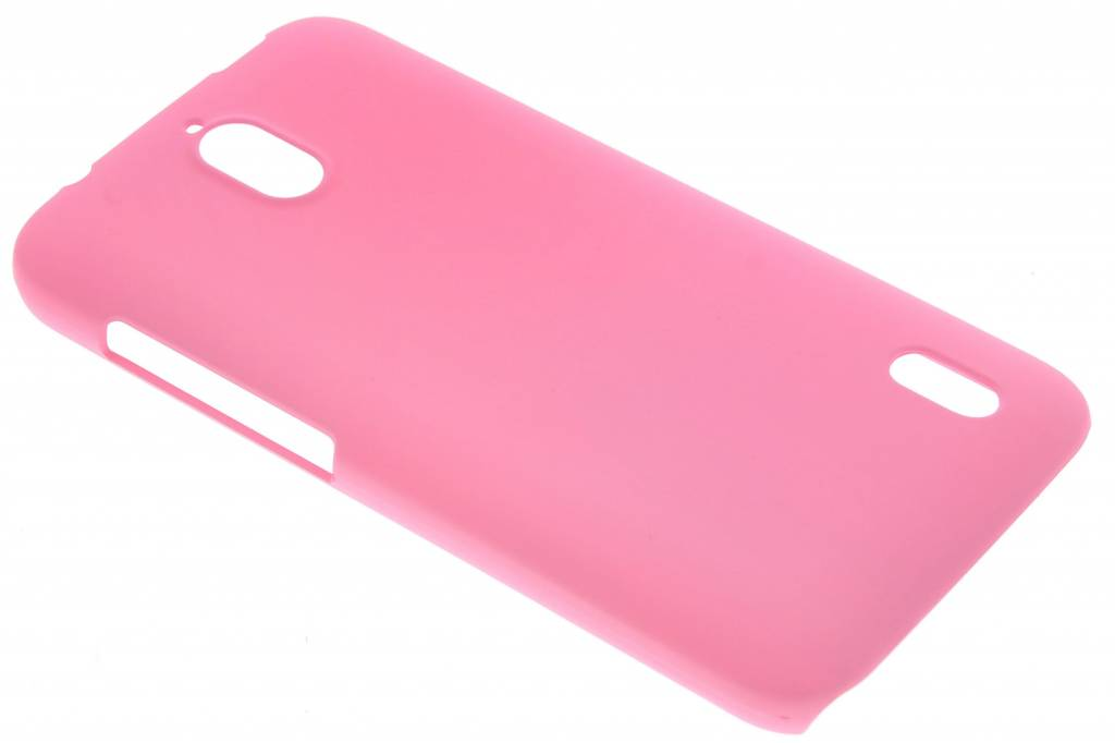 Roze effen hardcase hoesje voor de Huawei Y625