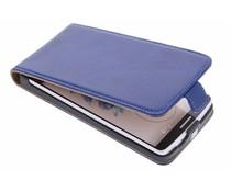 Selencia Luxe lederen Flipcase LG G3 - Blauw