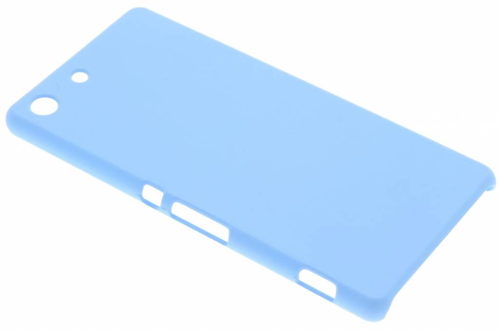 Turquoise effen hardcase hoesje voor de Sony Xperia M5