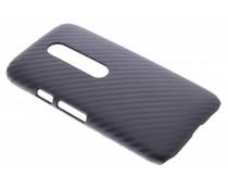 Carbon look hardcase Motorola Moto G 3rd Gen 2015