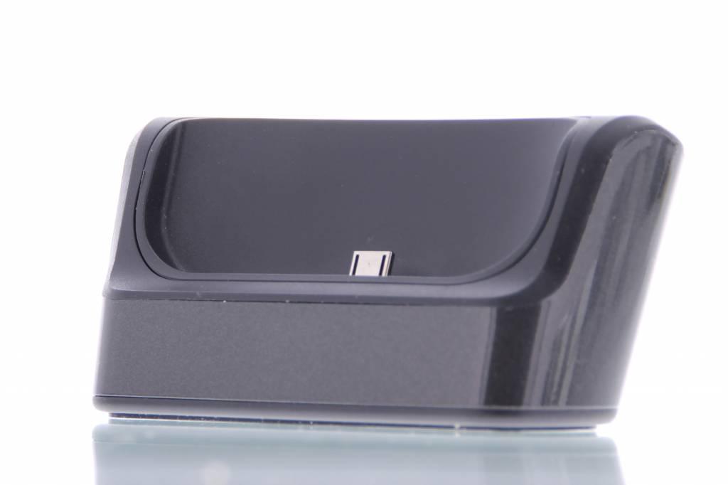Desktop oplaadstation voor de HTC One M9 - Zwart
