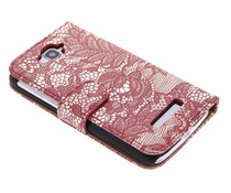 Rood glamour design booktype One Touch Pop C7