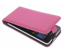 Selencia Luxe Flipcase Huawei Y635 - Fuchsia