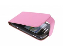 Roze classic flipcase Samsung Galaxy Xcover 2
