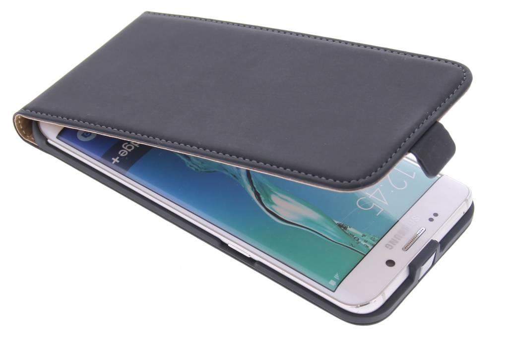 Mobiparts Premium Flipcase voor de Samsung Galaxy S6 Edge Plus - Black