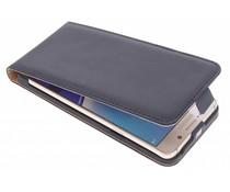 Zwart luxe flipcase Samsung Galaxy Note 5