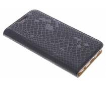 Luxe slangen TPU booktype Samsung Galaxy S6