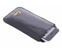 Fab. Black Shiney Croco cover - Size L