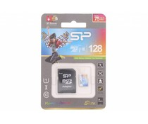 Silicon Power Elite 128GB geheugenkaart + SD adapter