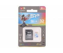 Silicon Power Elite 32GB geheugenkaart + SD adapter