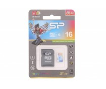 Silicon Power Elite 16GB geheugenkaart + SD adapter