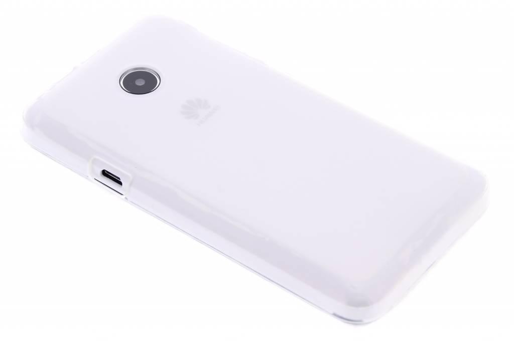 Transparant hard siliconen hoesje voor de Huawei Ascend Y330