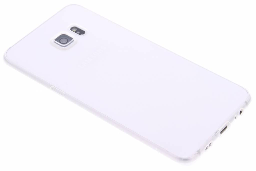 Ultra thin transparant TPU hoesje voor de Samsung Galaxy S6 Edge Plus