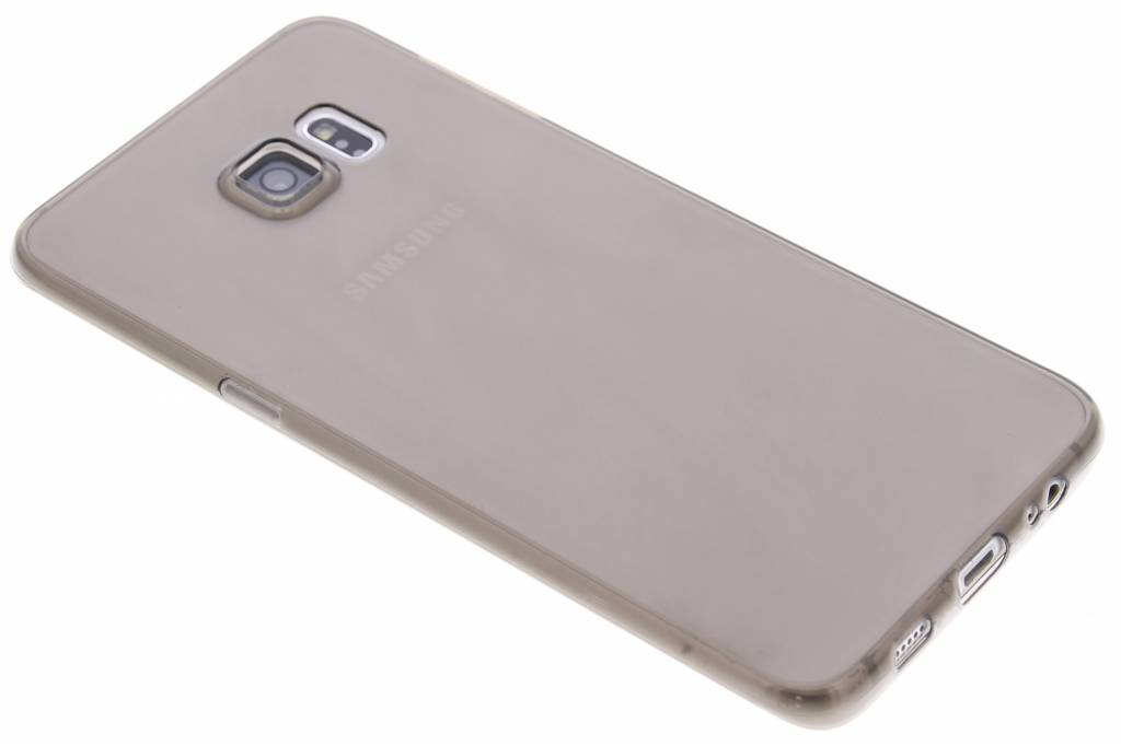 Grijs ultra thin transparant TPU hoesje voor de Samsung Galaxy S6 Edge Plus
