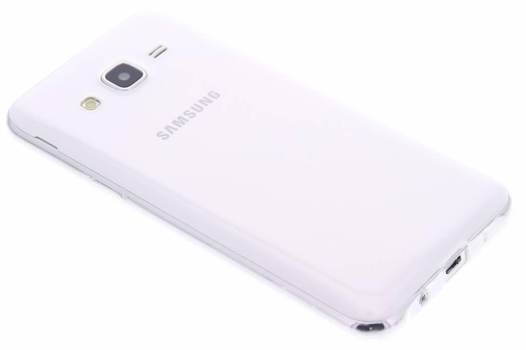 Ultra thin transparant TPU hoesje voor de Samsung Galaxy J5