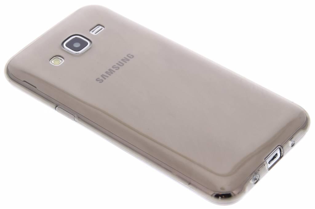 Grijs ultra thin transparant TPU hoesje voor de Samsung Galaxy J5
