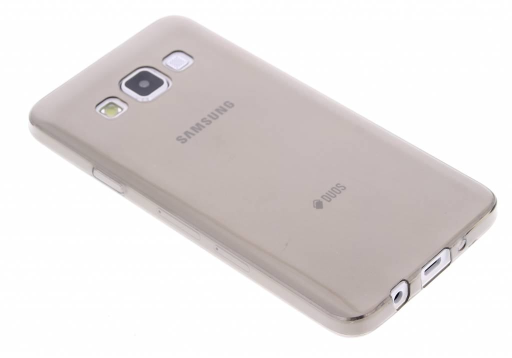 Grijs ultra thin transparant TPU hoesje voor de Samsung Galaxy A3