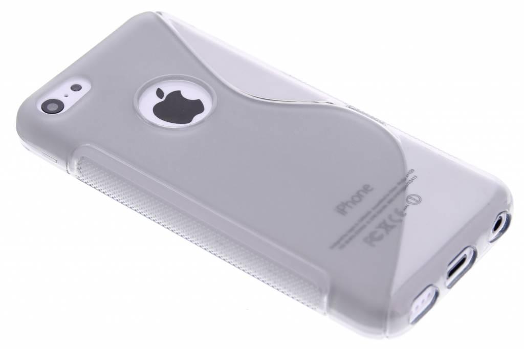 Grijs S-line TPU hoesje voor de iPhone 5c