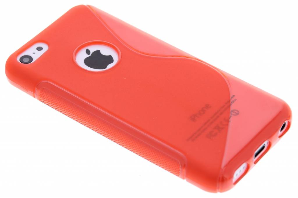 Rood S-line TPU hoesje voor de iPhone 5c