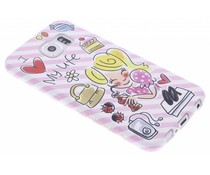 Blond Amsterdam I love my life softcase Galaxy S6