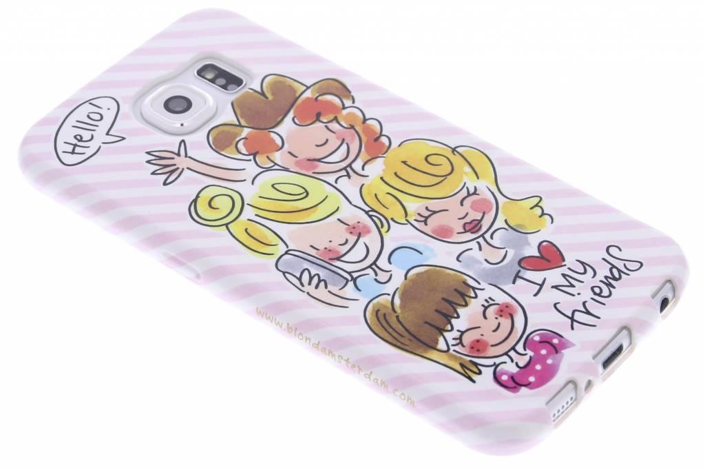 I love my friends softcase voor de Samsung Galaxy S6