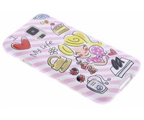 Blond Amsterdam I love my life softcase S5 (Plus) / Neo