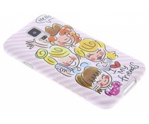 Blond Amsterdam I love my friends softcase S5 (Plus) / Neo