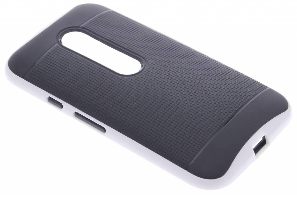 Witte TPU Protect case voor de Motorola Moto G 3rd Gen 2015