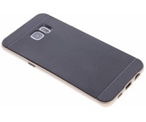 Goud TPU Protect case Samsung Galaxy S6 Edge Plus