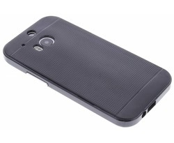 Zwart TPU Protect case HTC One M8 / M8s