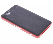 Rood TPU Protect case Sony Xperia Z1 Compact