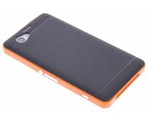 Oranje TPU Protect case Sony Xperia Z1 Compact