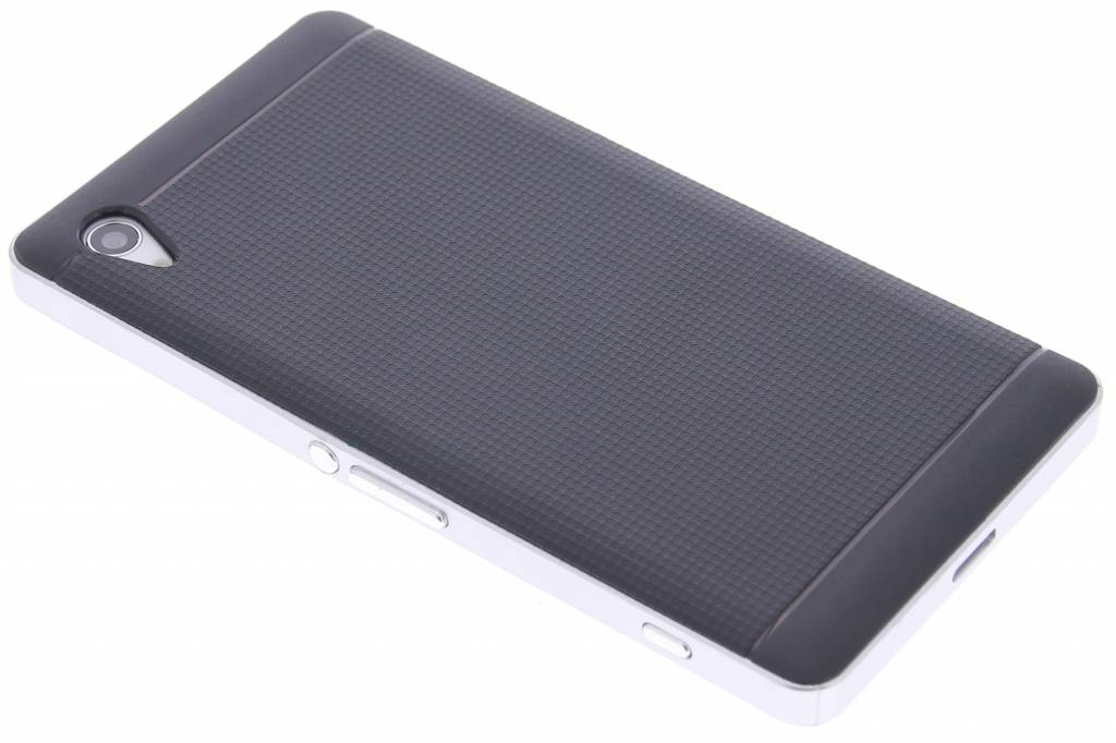 Zilveren TPU Protect case voor de Sony Xperia Z2