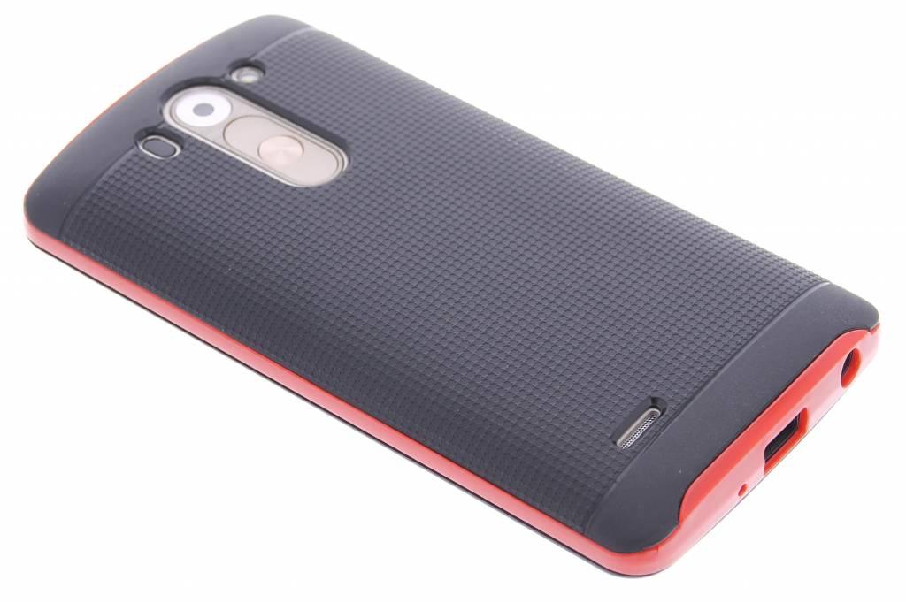 Rode TPU Protect case voor de LG G3 S