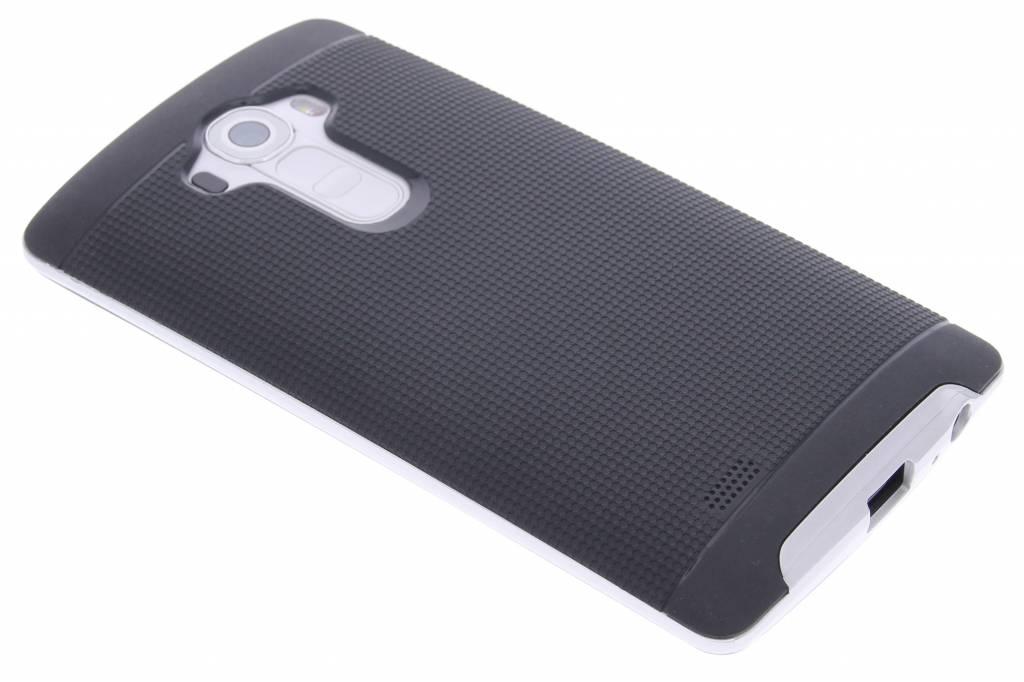 Zilveren TPU Protect case voor de LG G4