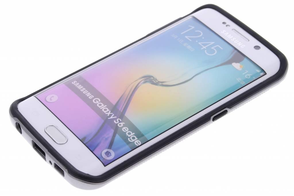 Grijze TPU Protect case voor de Samsung Galaxy S6 Edge
