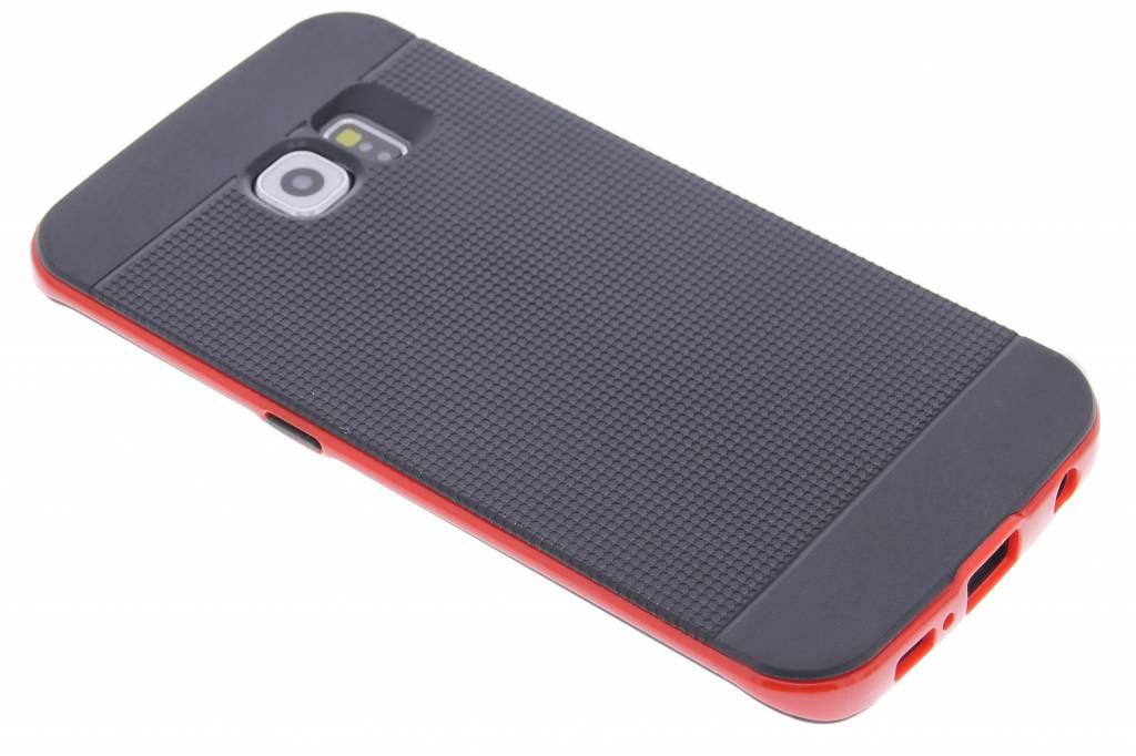 Rode TPU Protect case voor de Samsung Galaxy S6 Edge