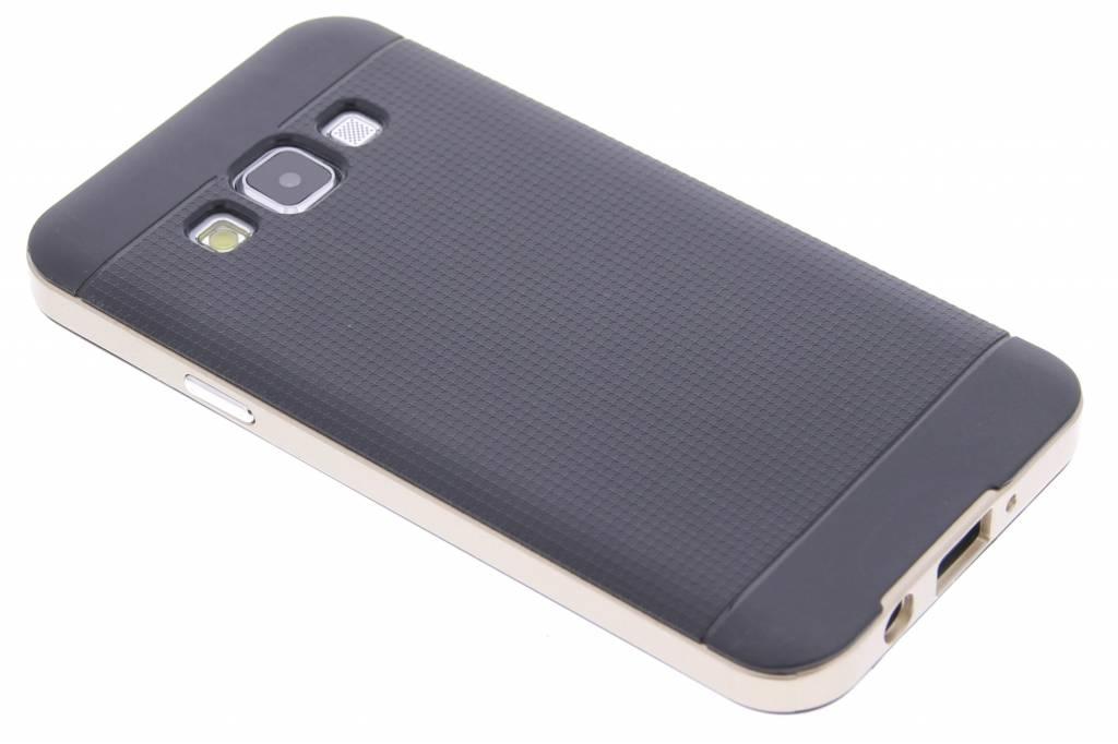 Gouden TPU Protect case voor de Samsung Galaxy A3