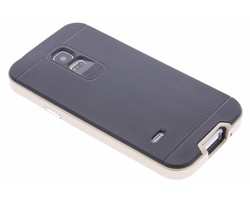 Goud TPU Protect case Samsung Galaxy S5 Mini
