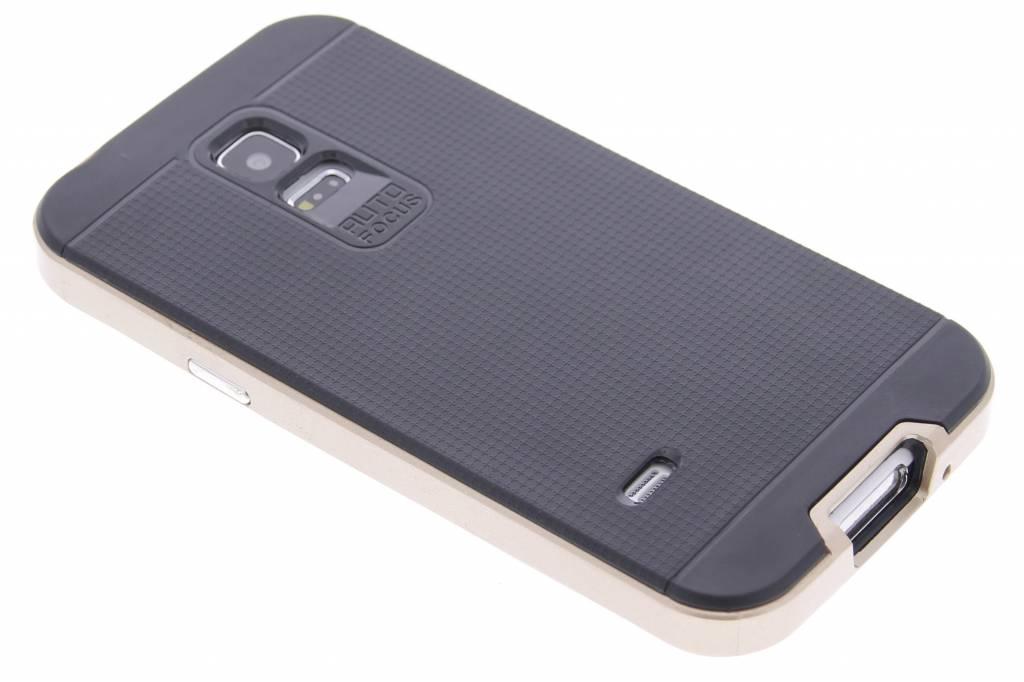 Gouden TPU Protect case voor de Samsung Galaxy S5 Mini