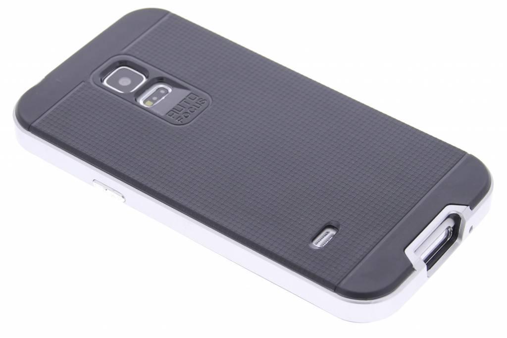 Zilveren TPU Protect case voor de Samsung Galaxy S5 Mini