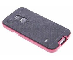 Fuchsia TPU Protect case Samsung Galaxy S5 Mini