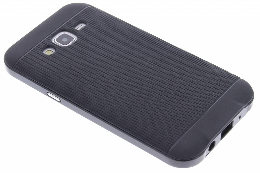 Zwarte TPU Protect case voor de Samsung Galaxy J5