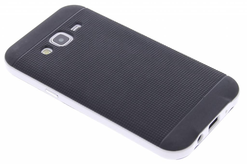 Witte TPU Protect case voor de Samsung Galaxy J5
