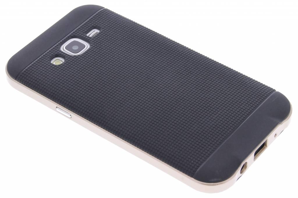 Gouden TPU Protect case voor de Samsung Galaxy J5